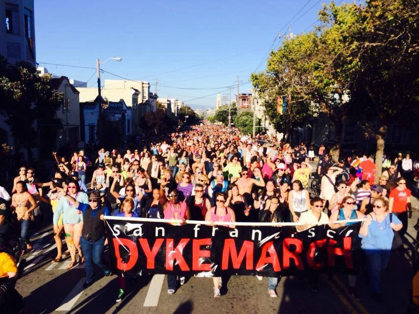 Image result for dyke march sf