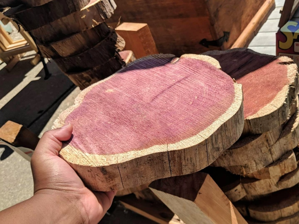 Make a cutting board cedar